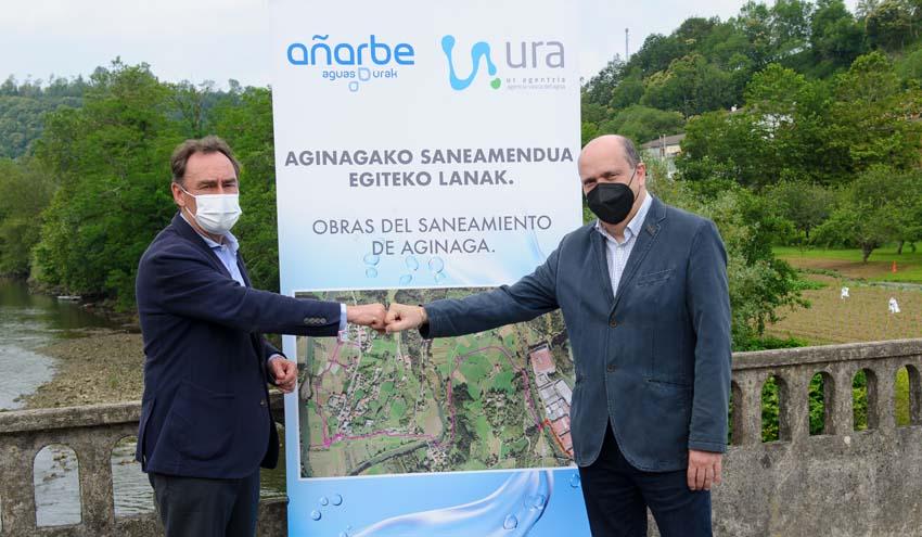 Acordada la ejecución del saneamiento de Aginaga en Usurbil por valor de más de 6 millones de euros