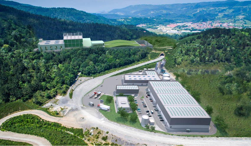 Comienzan los trámites para el desarrollo de la segunda fase del Complejo Medioambiental de Gipuzkoa