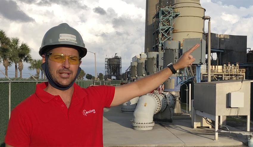 Una mirada a la desaladora de Tampa en Florida