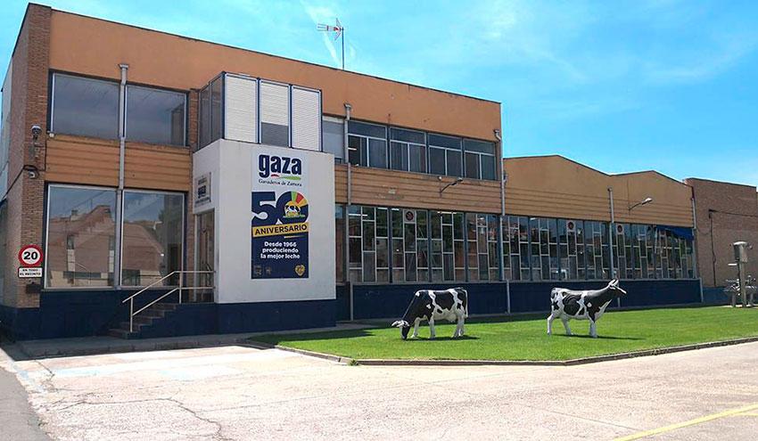 Leche Gaza confía en Veolia los servicios de energía, agua y residuos en su nueva fábrica en Coreses