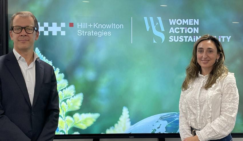 Alianza Women Action Sustainability y Hill+Knowlton Strategies por la sostenibilidad mediante el liderazgo femenino