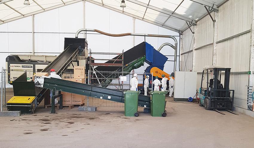 Sogama valorizó energéticamente más de 65.000 kilos de residuos sanitarios evitando su vertido