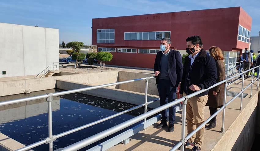 Murcia destina 4 millones de euros para mejorar la depuradora de San Javier