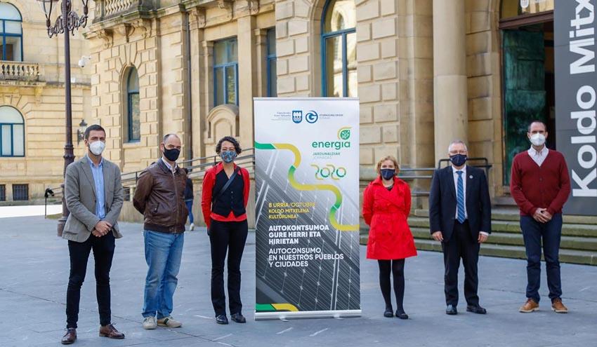 Gipuzkoa presenta un modelo energético basado en la energía solar renovable y en el autoconsumo