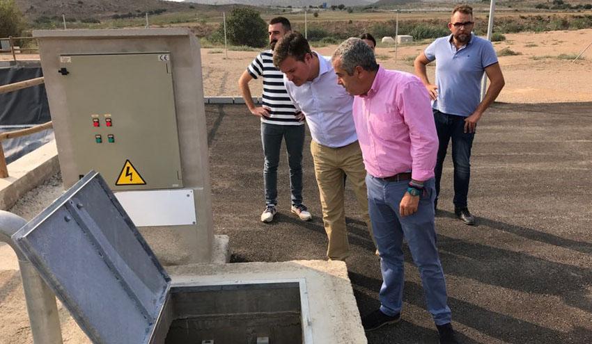 Concluyen las obras de mejora llevadas a cabo por Cadagua en la depuradora de Fuente Álamo