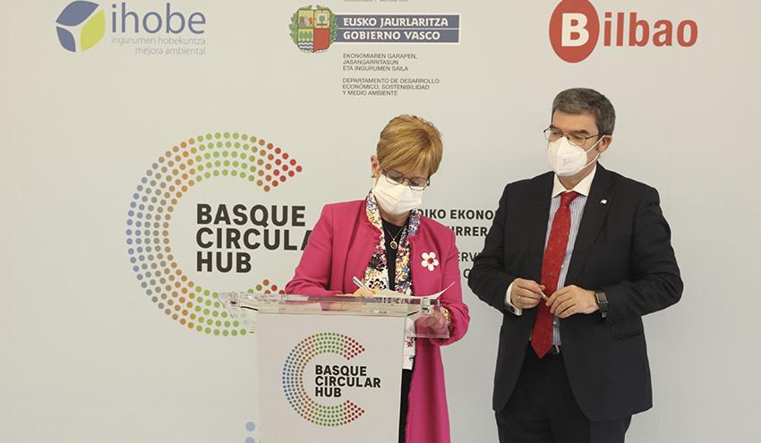 Nace Basque Circular Hub, primer centro de servicios avanzados de economía circular del Sur de Europa