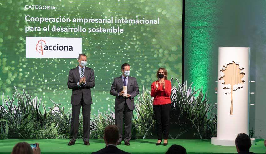 El MITECO premia iniciativas de 25 empresas españolas por su contribución a la economía verde