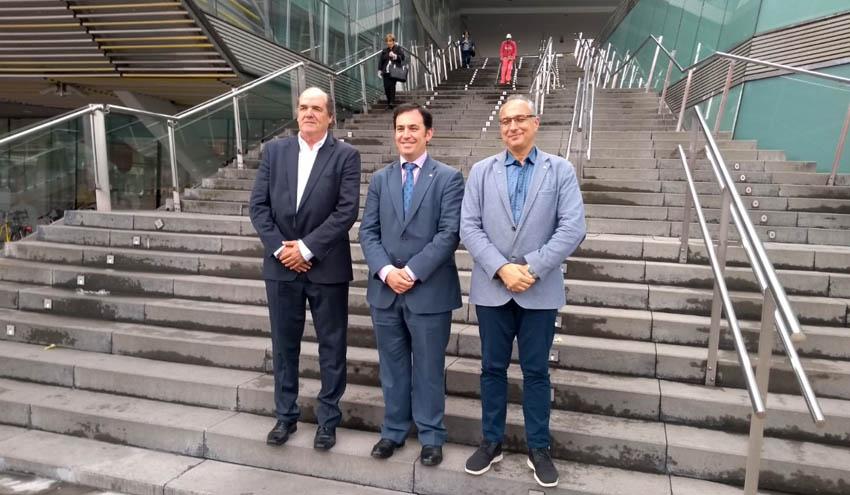 El presidente de ISWA presenta el Congreso ISWA2019 a las autoridades de Bilbao y Bizkaia