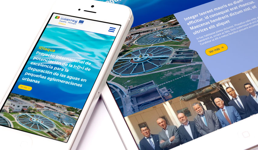 IDIaqua amplía sus canales de comunicación con una nueva web