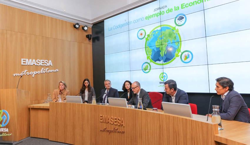 EMASESA comparte con operadores y empresas del sector su experiencia pionera en codigestión