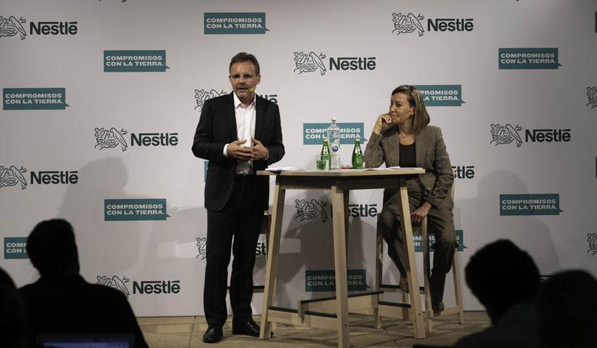 Nestlé, firme en la lucha contra el cambio climático
