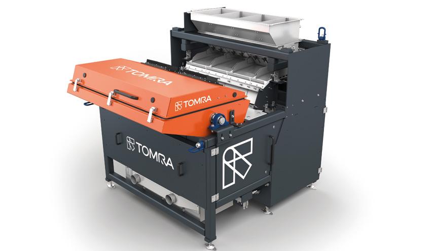 TOMRA Sorting Recycling presentará la flexibilidad mejorada del AUTOSORT FLAKE en el K-Show 2016