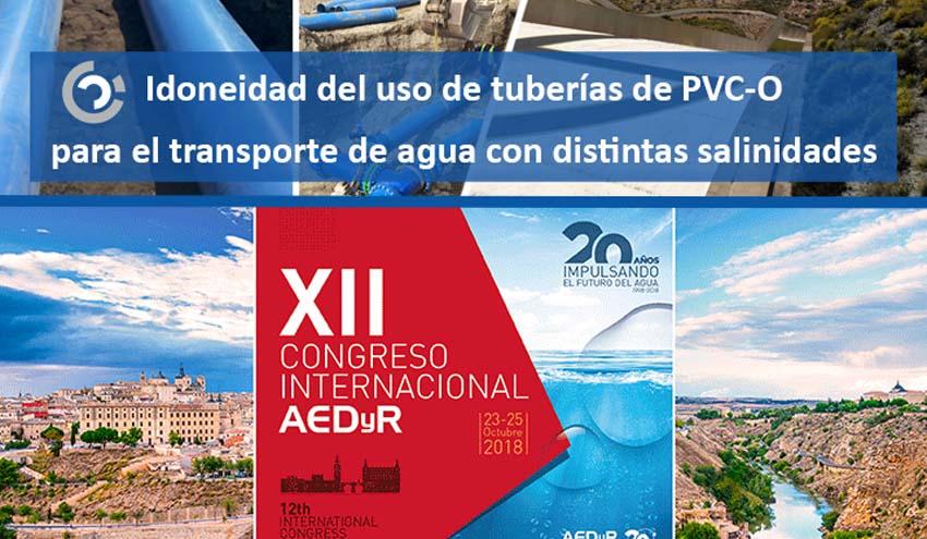 Molecor estará presente en el XII Congreso Internacional AEDyR