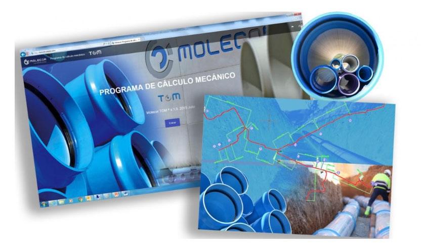 Molecor implementa mejoras funcionales en su Programa de Cálculo Mecánico TOM®