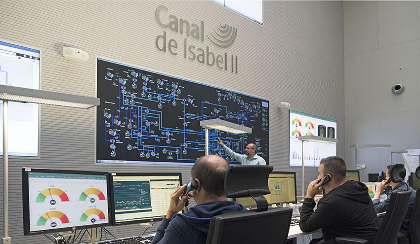 Canal de Isabel II conmemora el Día Mundial del Agua recordando a los profesionales en la crisis del COVID-19