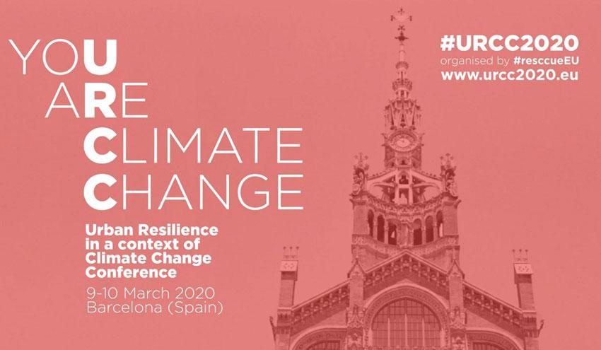 Resiliencia urbana y cambio climático, a debate en una conferencia organizada por el proyecto RESCCUE