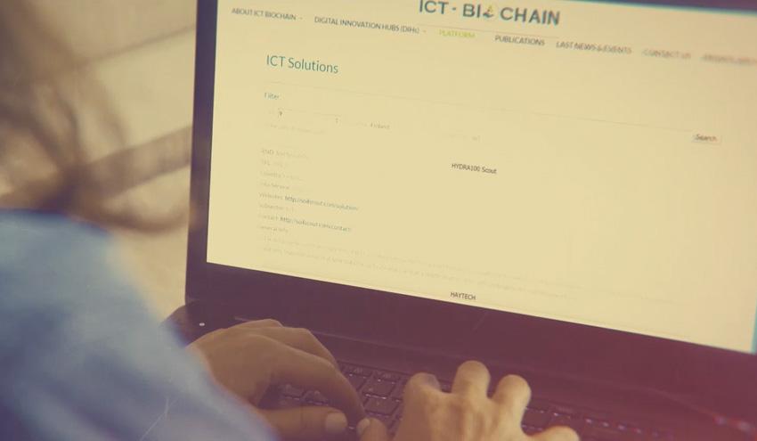 ICT-BIOCHAIN presenta su plataforma para digitalizar la cadena de suministro de biomasa