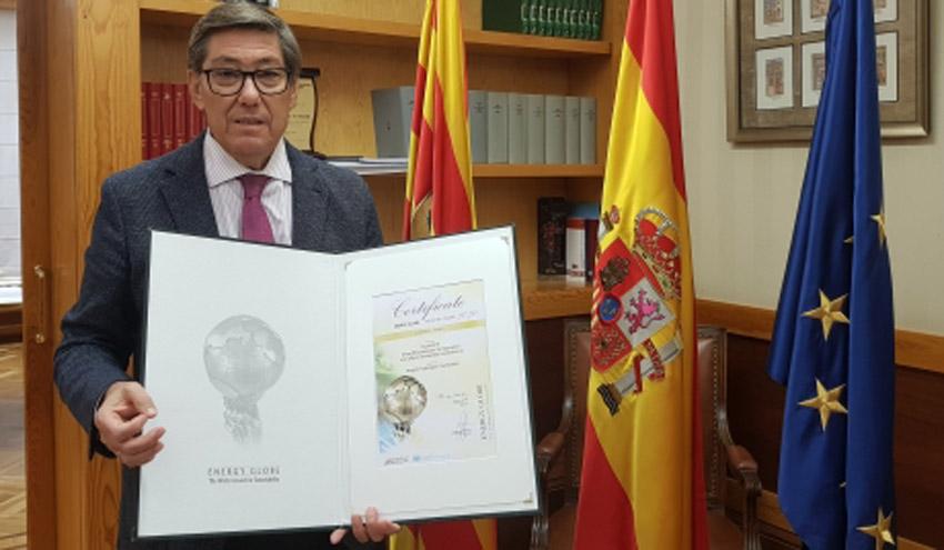 ELY4OFF de la Fundación Hidrógeno Aragón gana el National Energy Globe Award Spain