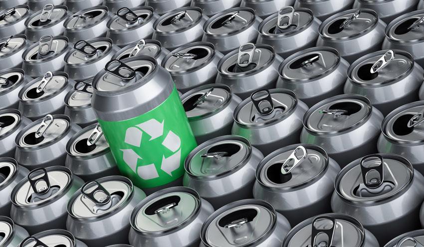 Las latas de aluminio reducen significativamente sus emisiones de carbono