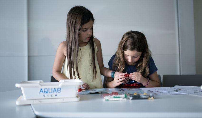 El proyecto Aquae STEM facilitará a las alumnas de Primaria la oportunidad de resolver retos sobre el mundo del agua
