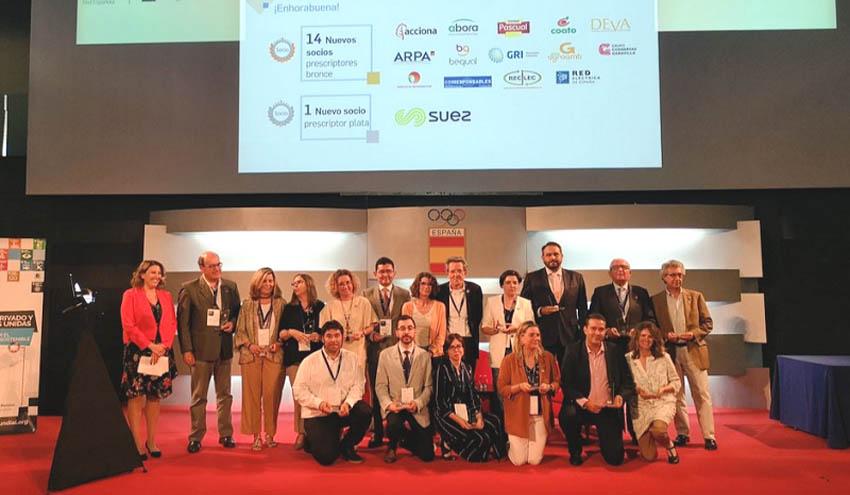 SUEZ España es galardonada por la Red Española del Pacto Mundial de Naciones Unidas