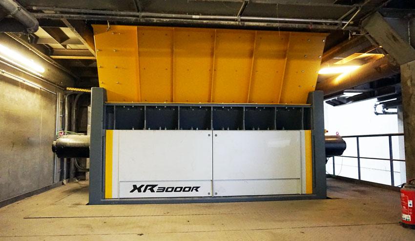 La trituradora de residuos XR3000R de UNTHA, elegida para una de las plantas más modernas de Europa