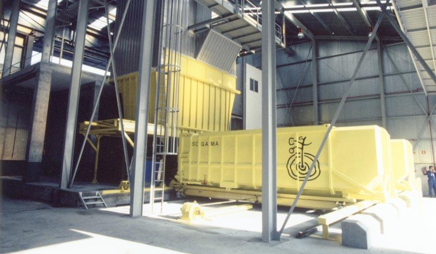 Nueva planta de transferencia en Arbo, Pontevedra