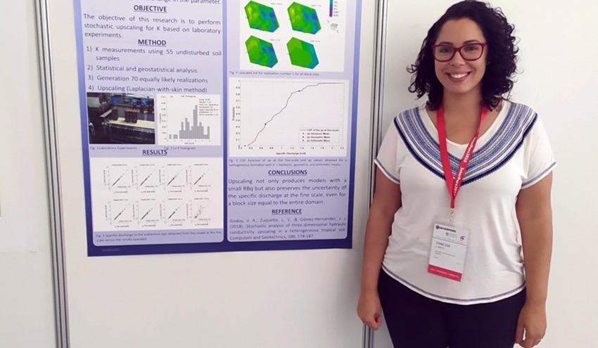 Vanessa Godoy, condecorada con la más alta distinción para jóvenes investigadores de la IAMG
