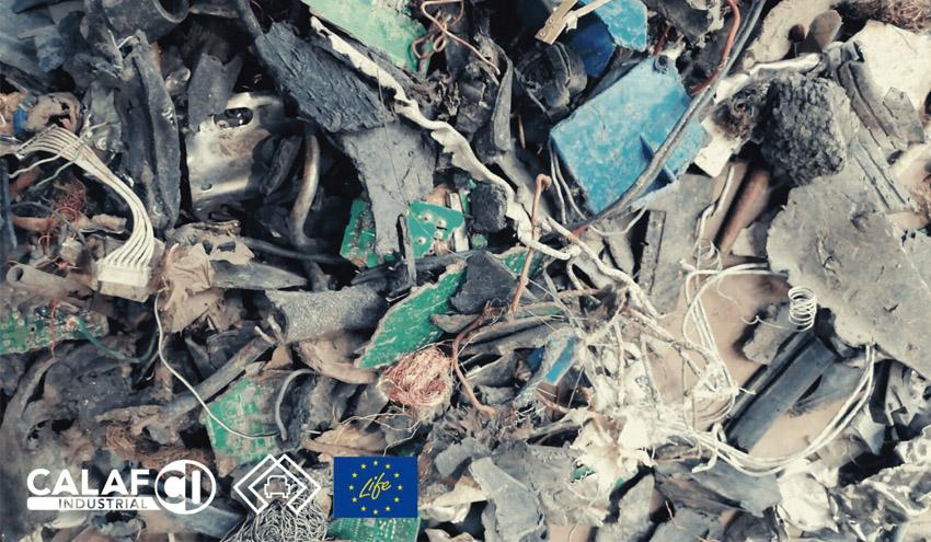 Innovación para la recuperación de materiales de la fragmentación de vehículos fuera de uso
