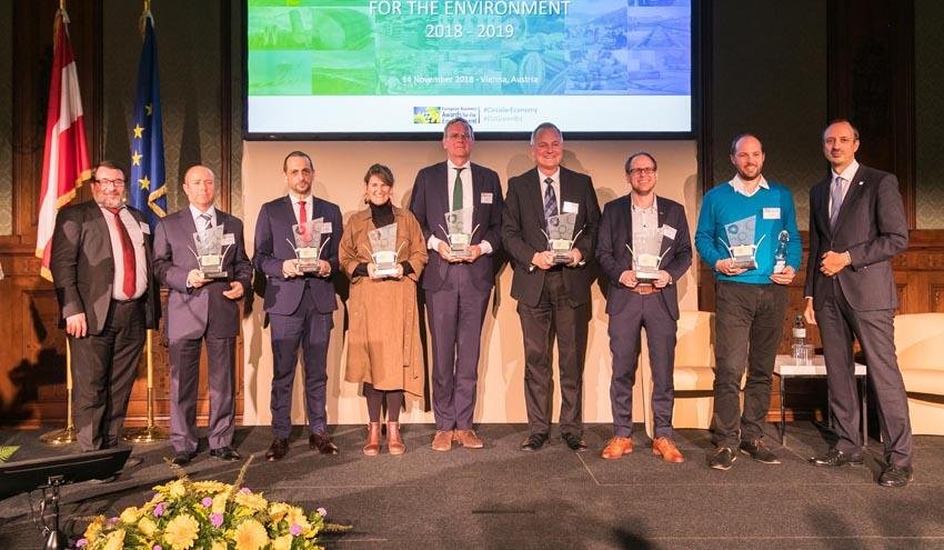 SUEZ Spain, galardonada en los European Business Awards for the Environment