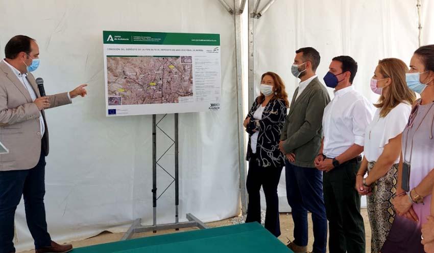Andalucía invierte cerca de 11,6 millones de euros para llevar agua desalada a Almería