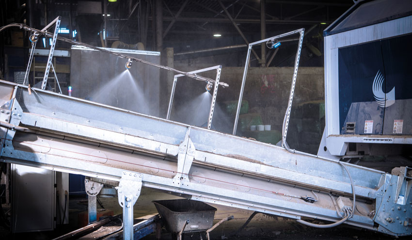 Prevención de incendios causados por baterías dañadas durante la producción de combustibles alternativos