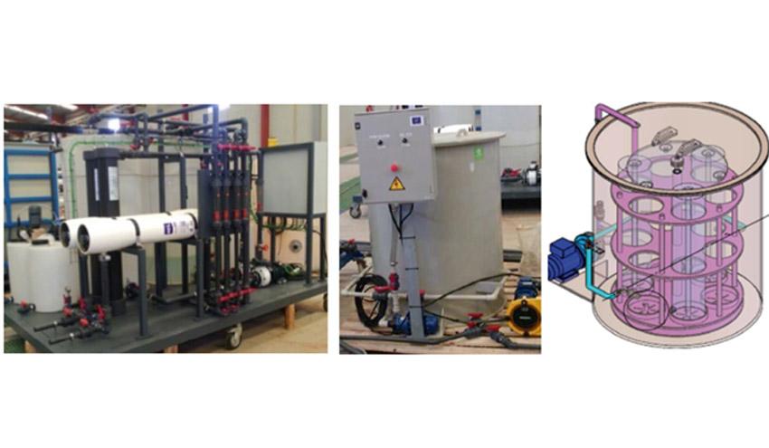 Análisis económico y de ciclo de vida de los pilotos de reciclaje directo de membranas de ósmosis inversa