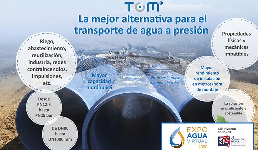 Molecor estará presente en la edición virtual de Expo Agua Perú 2020