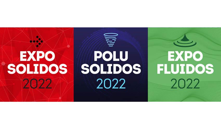 EXPOSOLIDOS 2022, POLUSOLIDOS 2022 y EXPOFLUIDOS 2022 expondrán un 45% más de empresas que en 2019