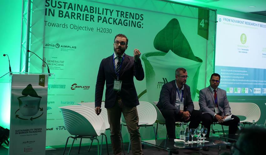 Bolsas y botellas con material reciclado y envases barrera sostenibles se presentan en MeetingPack 2019