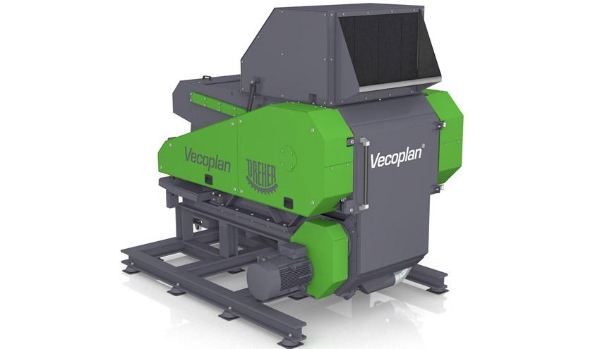 Vecoplan® presentará en EQUIPLAST un innovador equipo que combina una trituradora y un granulador
