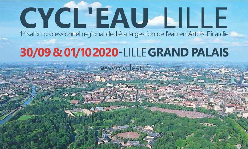 "Molecor estará presente en el Salon ""Cycl'eau Lille 2020"" en Lille, Francia"