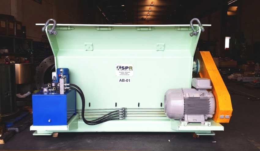 Abrebolsas SPR, un pretriturador con una eficiencia certificada del 98%