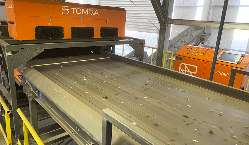 INTERECYCLING confía en TOMRA Recycling y sus equipos FINDER para la recuperación de RAEE