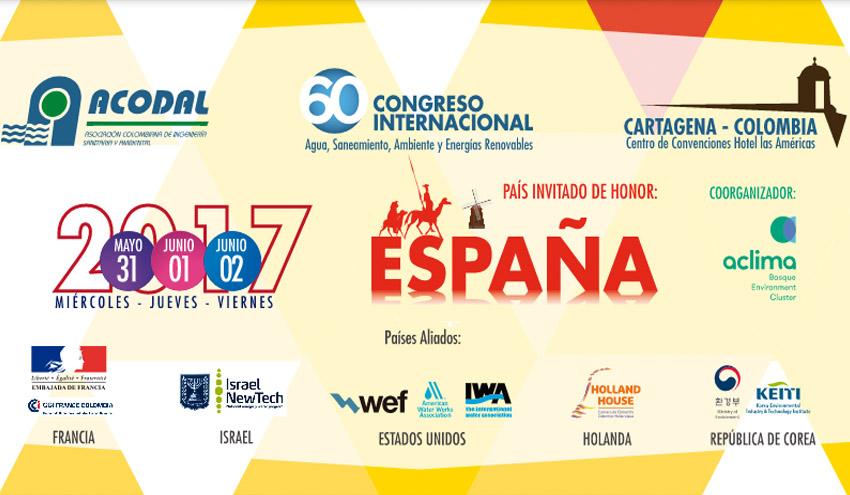 Aclima acompañará a 30 empresas y entidades españolas a la 60 edición del Congreso ACODAL