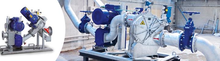BioCut, la solución eficiente para el bombeo de fangos con alta carga de sólidos en tanques de tormenta