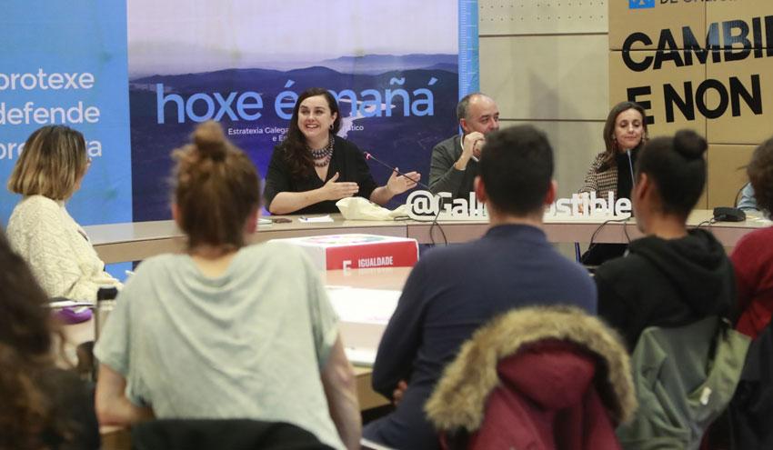 La tercera edición de Climathon Galicia reúne a más de un centenar de personas