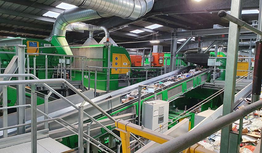 Viridor elige a TOMRA y STADLER para la transformación de su planta de reciclaje de Masons