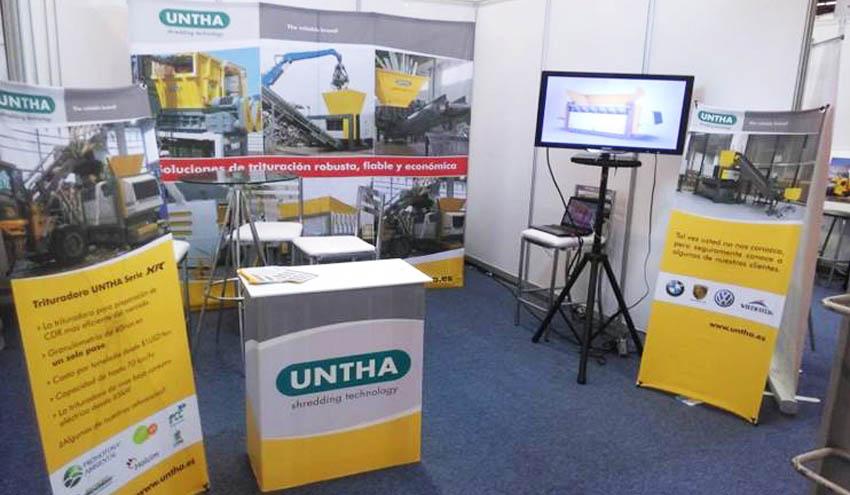 UNTHA Ibérica, presente en RESIDUOS EXPO