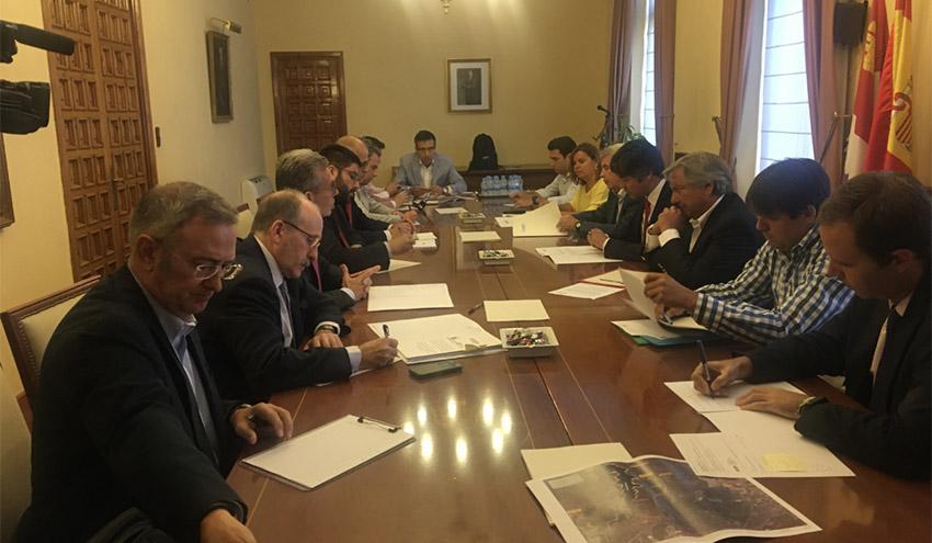 Celebrada la reunión de la Comisión de Seguimiento del abastecimiento a Ávila desde el Embalse de Las Cogotas