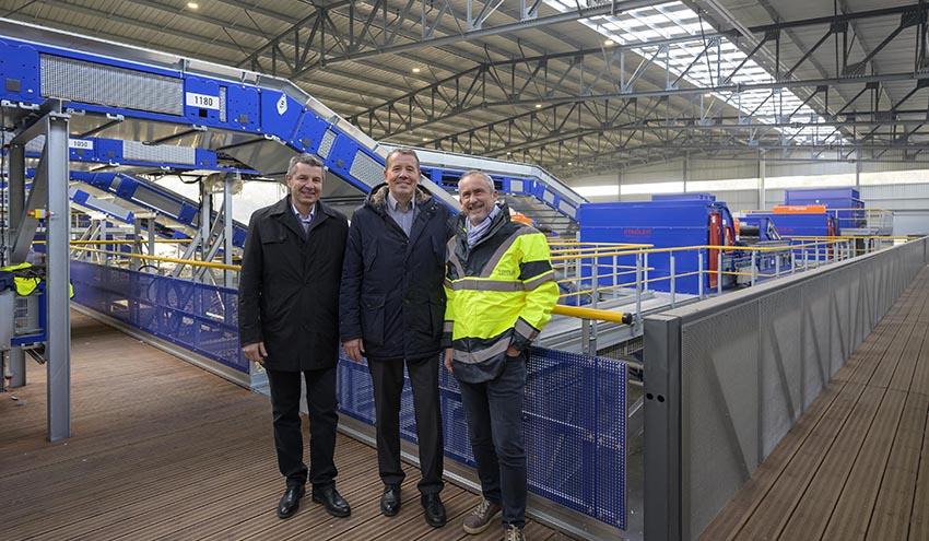 STADLER entrega al Grupo Schroll un nuevo centro de reciclaje flexible y pensado para el futuro