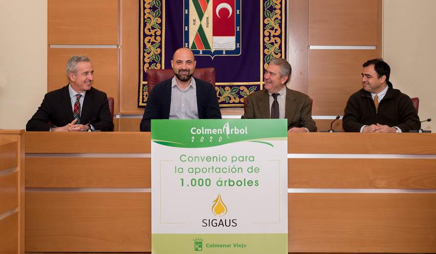 SIGAUS plantará su séptimo bosque urbano en la localidad madrileña de Colmenar Viejo