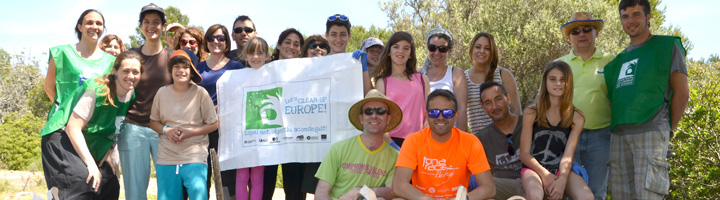 """7.445 voluntarios recogen en Cataluña más de 25 toneladas de desechos en el marco de la iniciativa """"Let 's Clean Up Europe!"""""""