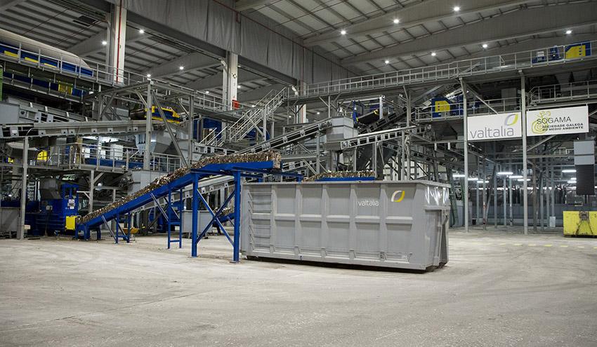 Sogama reduce el envío de residuos a vertedero un 98% durante los últimos 10 años